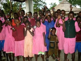 solar lights project for Village2Village Organization
