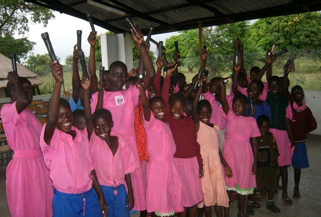 solar lights provided by sourcepoint global outreach