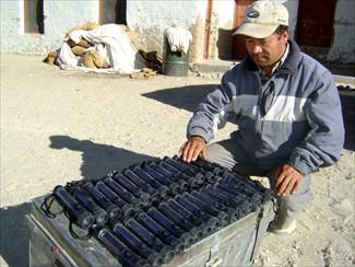 Solar light project for the Tibetan Children's Village.