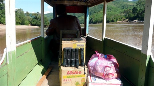 solar light distribution in laos
