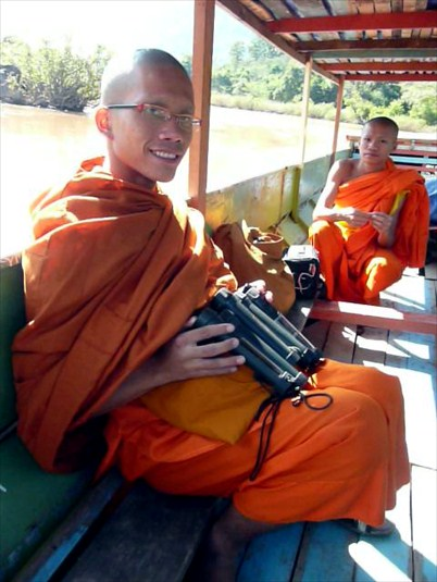 solar light distribution in Laos